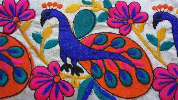 120mm Peacock Decorative Trim