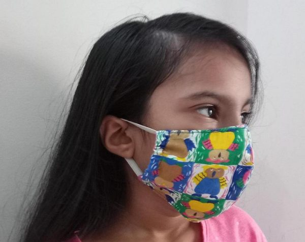 3 Layered Cloth Face Covering