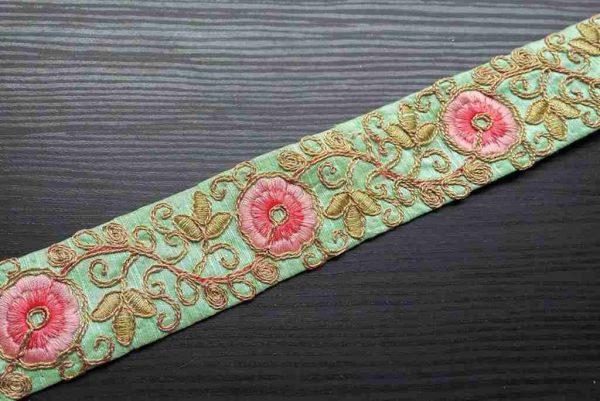 40mm Wedding Sari Trim