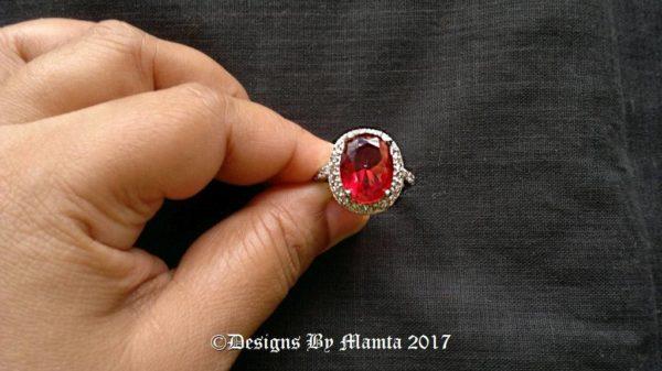 9 Carat Ruby Ring