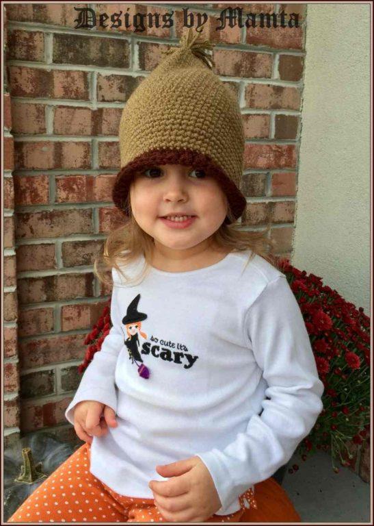 Acorn Hat Crochet Pattern For Newborn Children | Cool Crochet Patterns