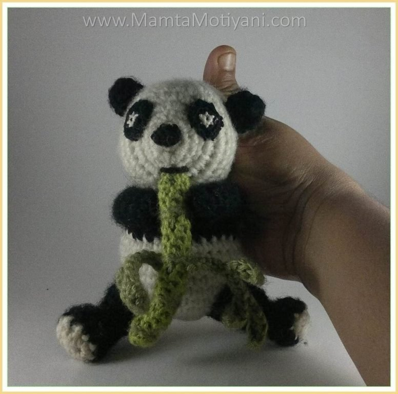 Giant Panda amigurumi crochet pattern : PlanetJune Shop, cute and ... | 768x776