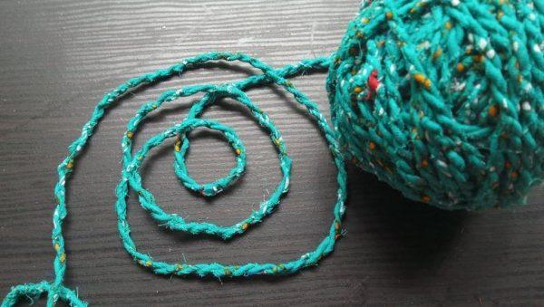 Aqua Seas Fabric Twine