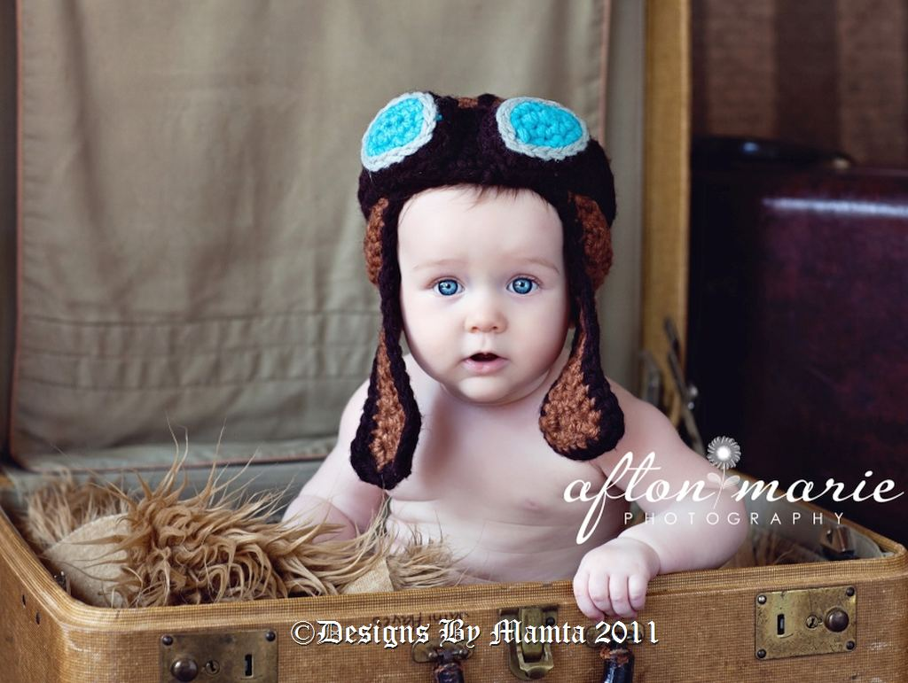 Crochet Aviator Hat Pattern Free With Goggles Aviator Hat Pattern Crochet