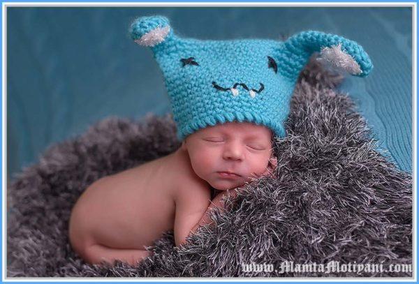 Baby Beanie Hat Crochet Pattern