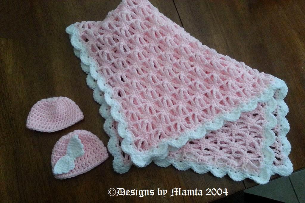 Easy Crochet Baby Blanket Pattern For Newborn Babies Spider Stitch