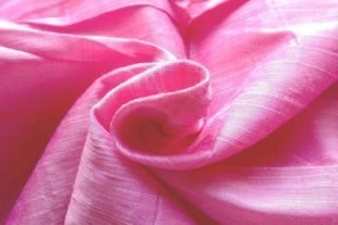 Baby Pink Indian Silk Fabric