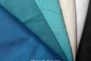 Bahamas Fat Quarters Silk Fabric Bundle