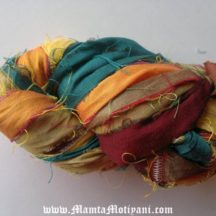 Bee-eater Passerine Silk Sari Yarn Ribbon