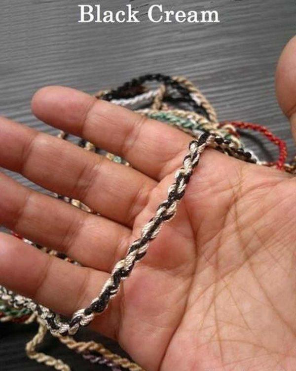 Black Cream Rope