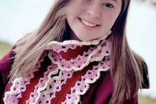 Blooming Hearts Scarf