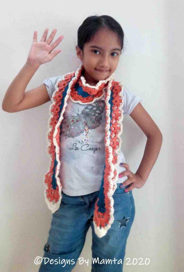 Blooming Hearts Scarf Shaman Motiyani