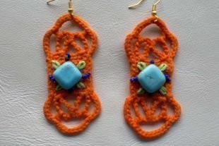 Bohemian Earrings Crochet Pattern
