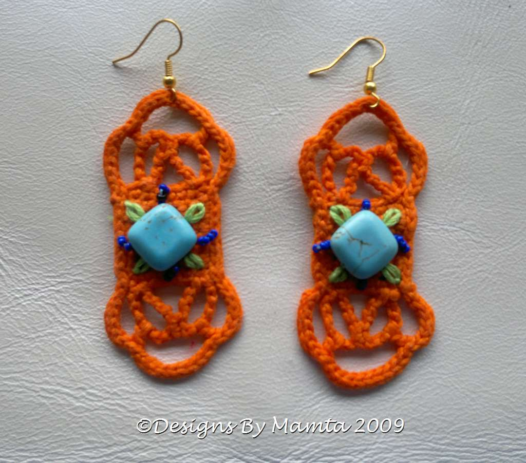 Bohemian Earrings Crochet Pattern Unique Crochet Jewelry Patterns