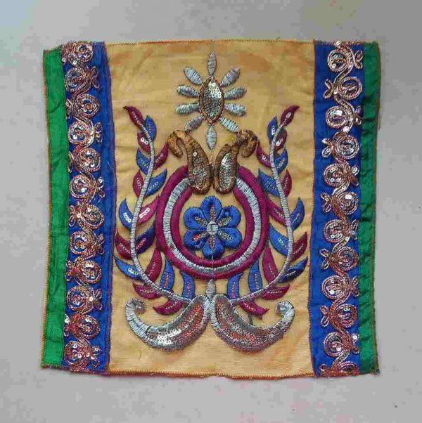 Bohemian Paisley Fabric Patch