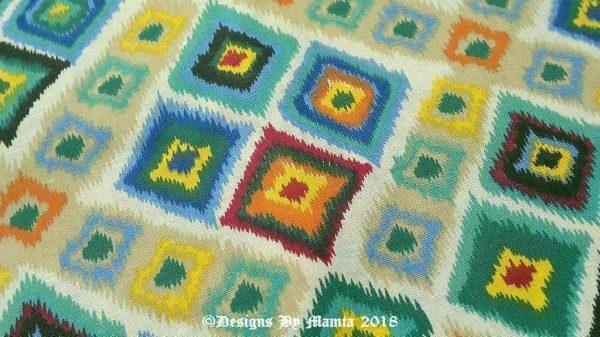 Bohemian Print Fabric