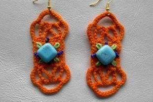 Bold Bohemian Crochet Earrings