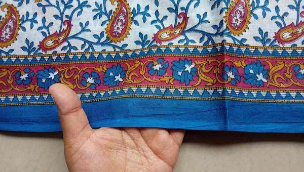 Border Print Fabric