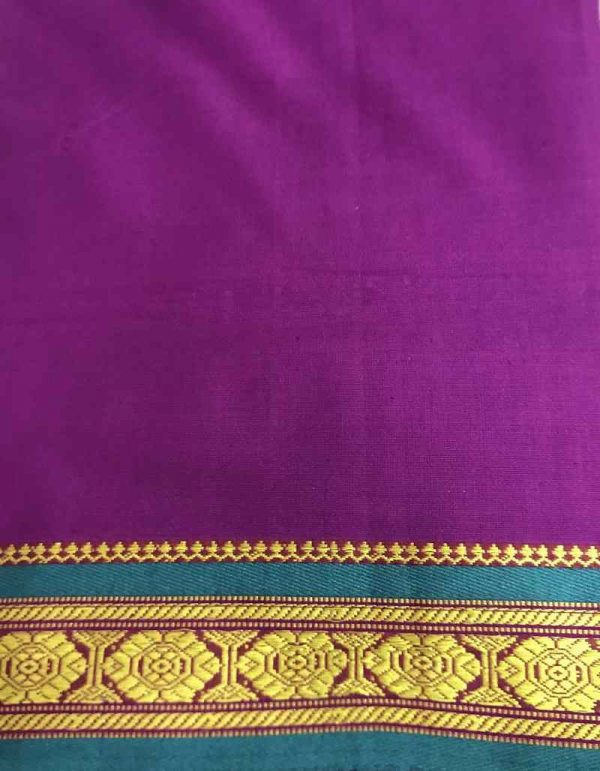 Border Print Indian Fabric