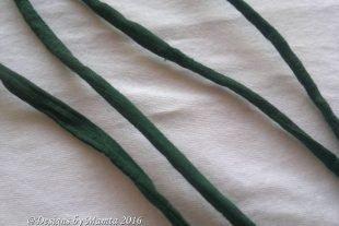 Bottle Green Silk Cord