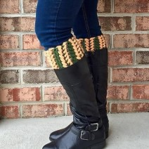 Braided Boot Cuff Pattern