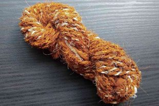 Brown Sari Twine Cord