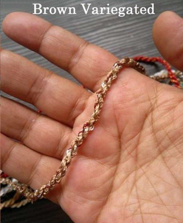 Brown Variegated Rope
