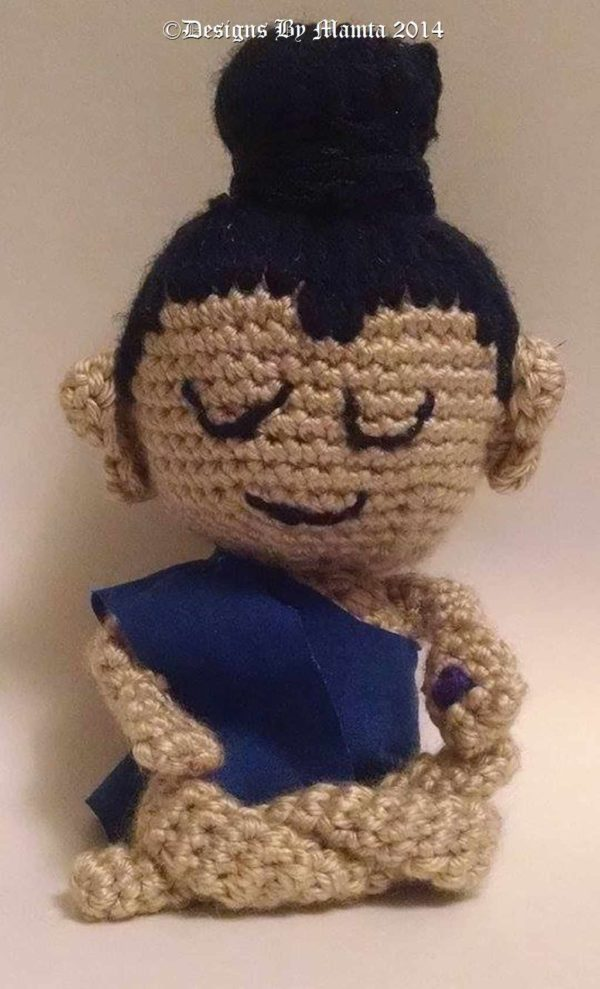 Buddha Amigurumi Crochet Pattern