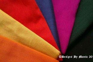 Butterfly Fat Quarter Art Silk Fabric