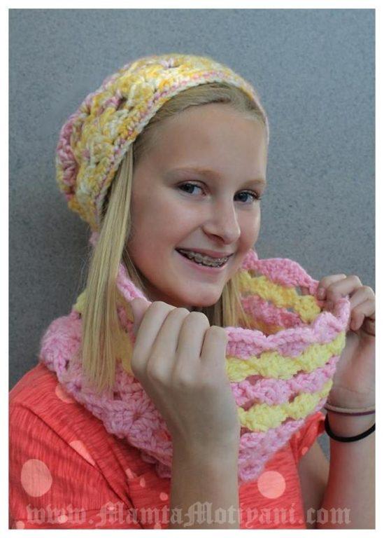 Catherine Crochet Cowl Pattern For Fashionable Women Stylish Girls
