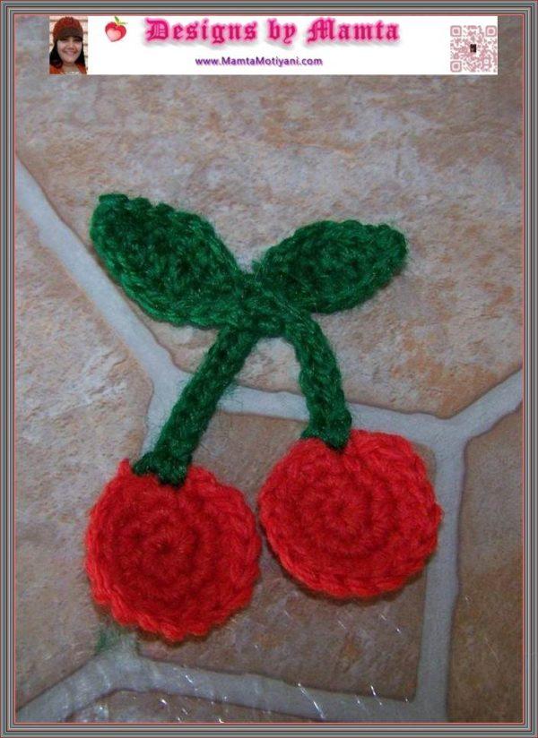 Cherries Applique Pattern