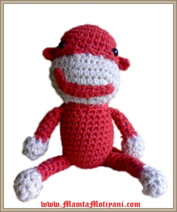 Chimpanzee Amigurumi Toy Pattern