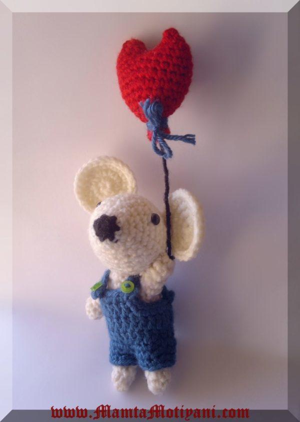 Chiyo The Crochet Amigurumi Mouse