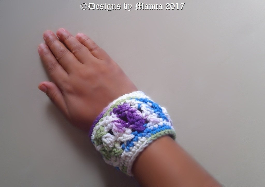 Chunky Textured Cuff Bracelet Crochet Pattern Cool Jewelry Patterns