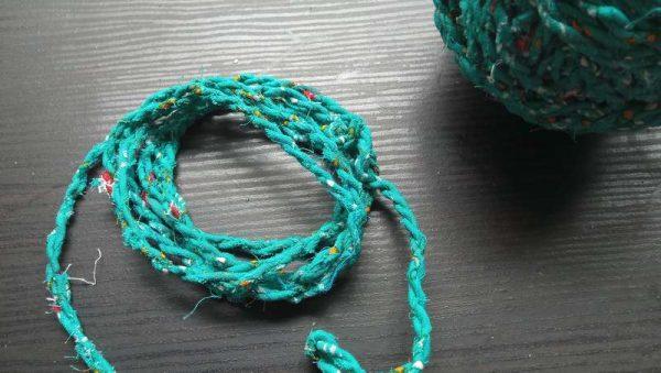 Colorful Fabric Yarn