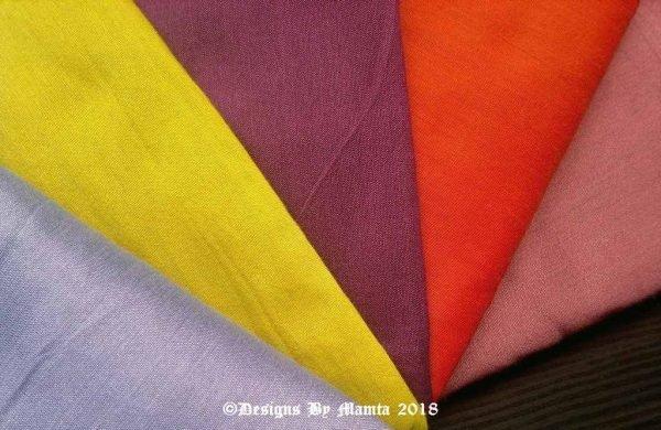 Colorful Glasses Fat Quarters Fabric Bundle