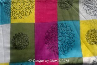 Colorful Indian Block Print Fabric
