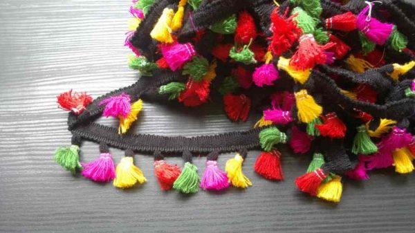 Colorful Tassel Fringe Trim