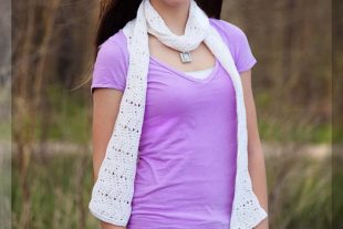 Cool Waves Crochet Scarf Pattern