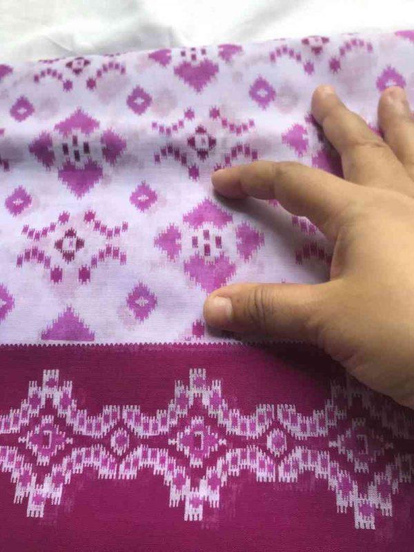 Cotton Sari Fabric
