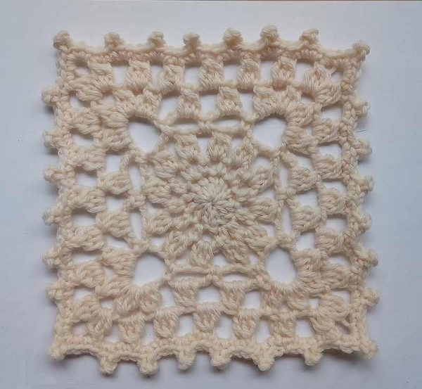 Crochet Afghan Square Pattern