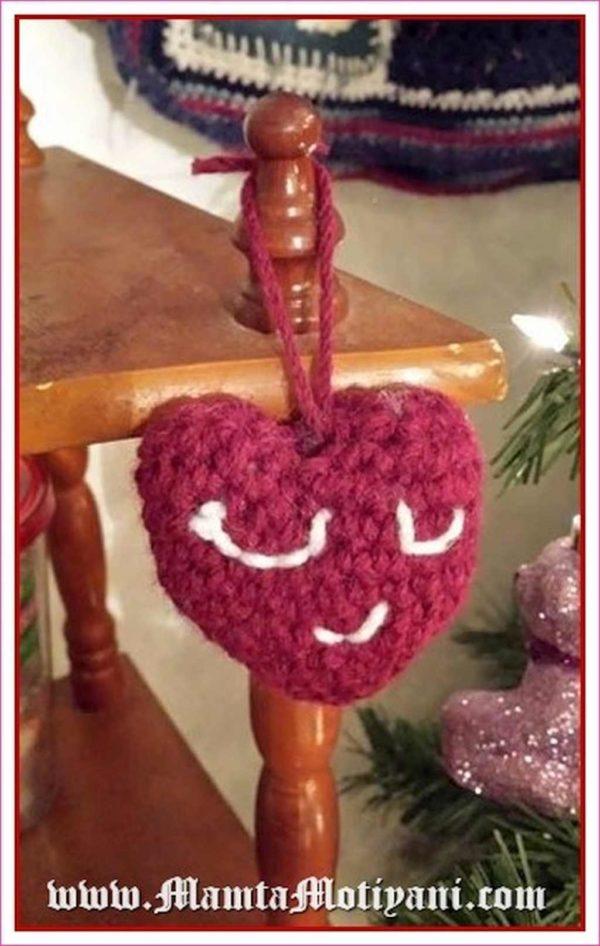 Crochet Amigurumi Heart Pattern