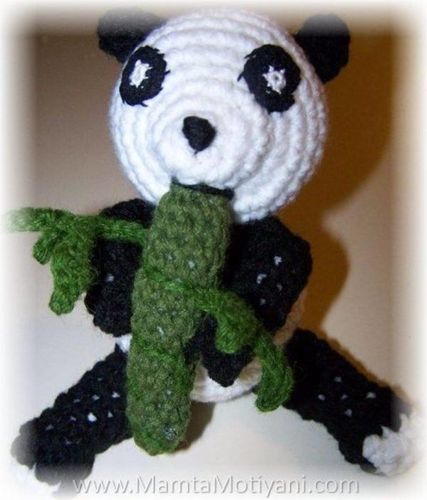 Crochet Amigurumi Panda Pattern