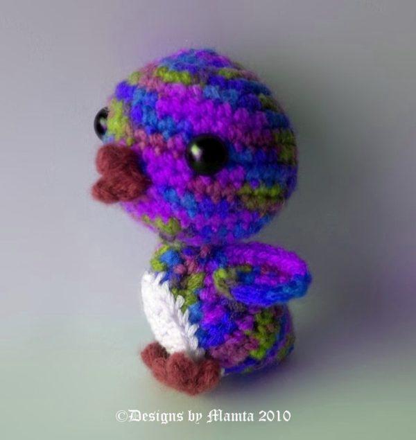 Crochet Amigurumi Penguin Pattern