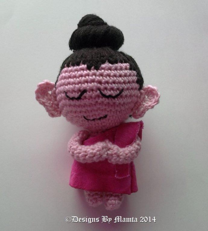 Crochet Baby Buddha Amigurumi Pattern | Unique Crochet Patterns