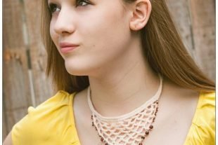 Crochet Beaded Lace Necklace Pattern