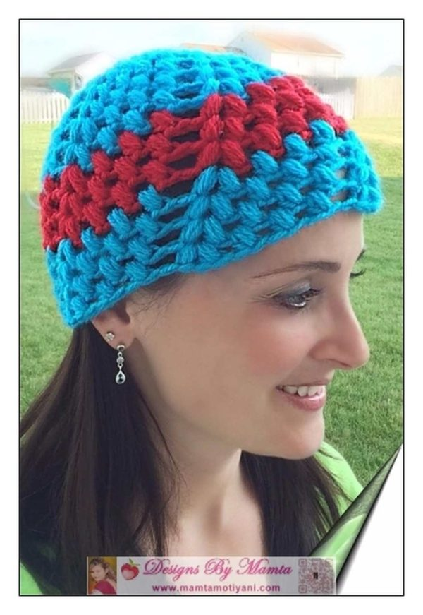 Crochet Bubbles Hat Pattern
