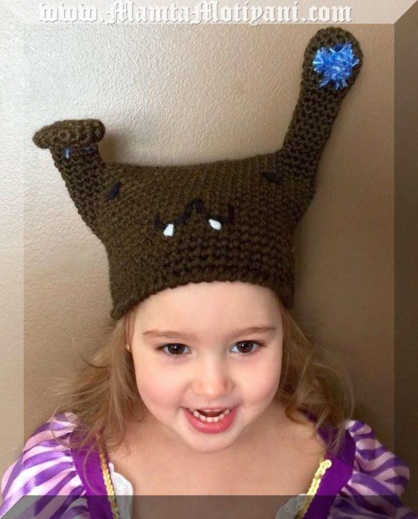 Crochet Bunny Beanie Pattern