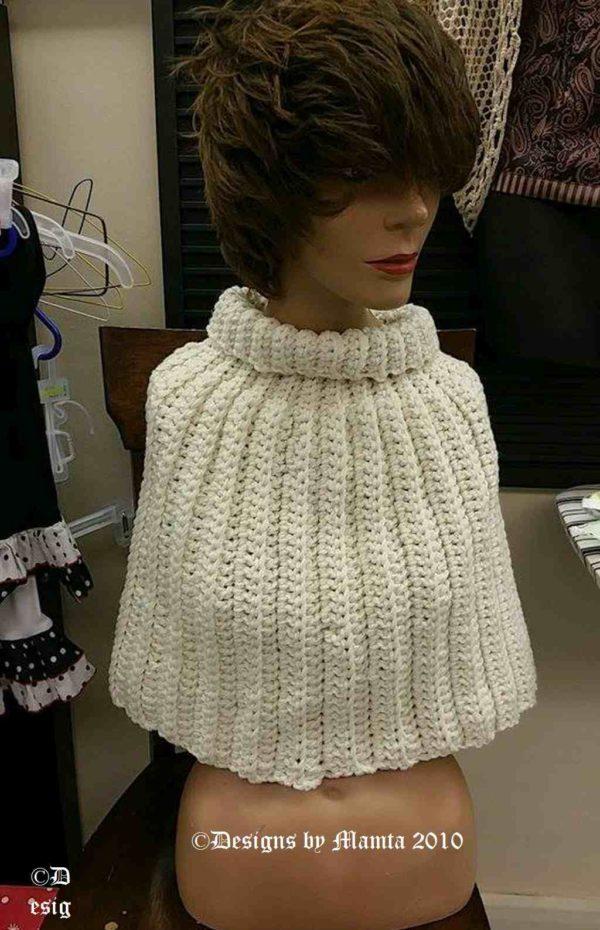 Crochet Capelet Pattern