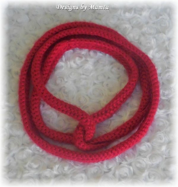 Crochet Circular Scarf Pattern
